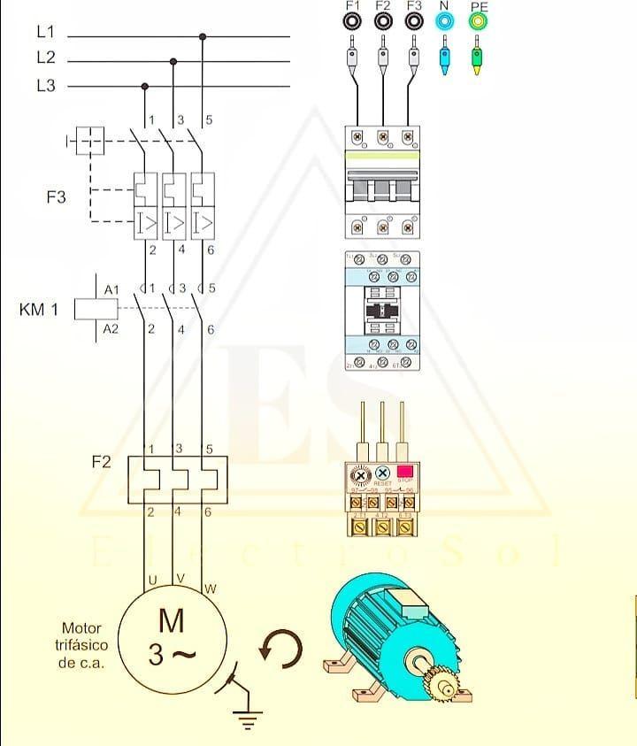 Arranque Directo Electricidad Engenheiros