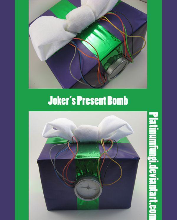Joker's Present Bomb - Batman by Platinumfungi