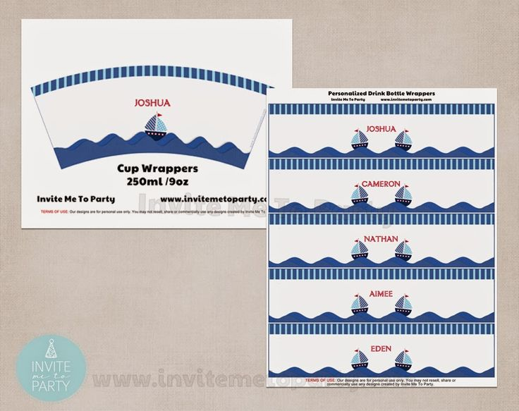 Nautical Baby Shower  Invite Me To Party: Nautical Baby Shower / Sailboat Baby Shower