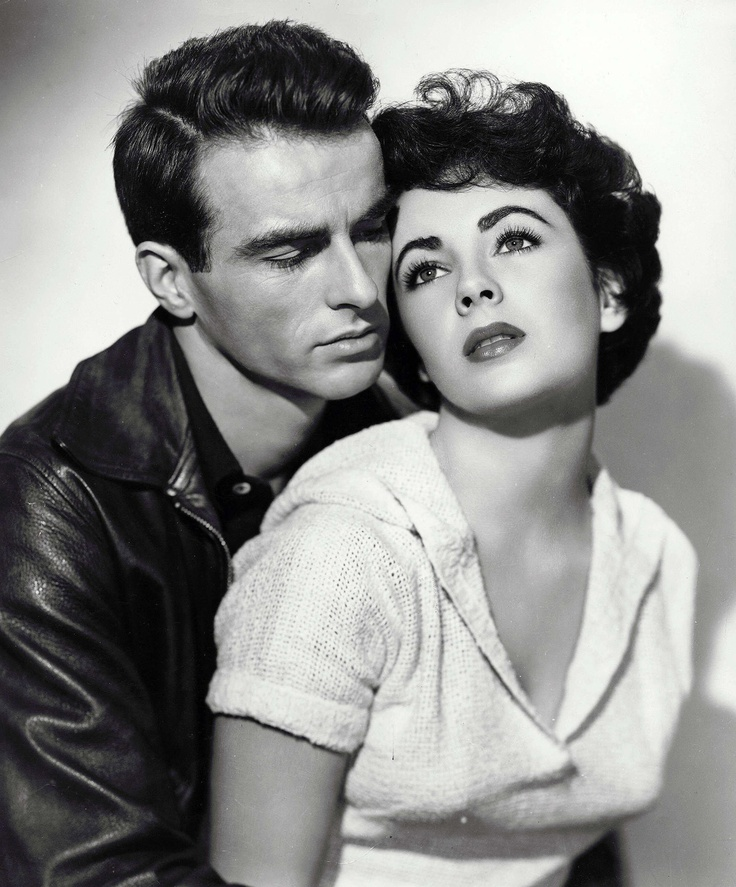 "Montgomery Clift and Elizabeth Taylor in A Place in the Sun"", 1951                                                                                                                                                     Más"