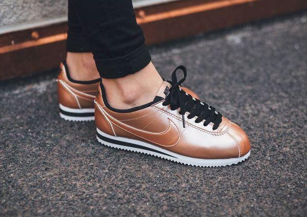 Nike Cortez Leather Metallic Red Bronze