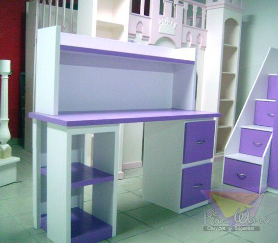 77 best images about muebles en morado on pinterest tes - Muebles para ninas ...