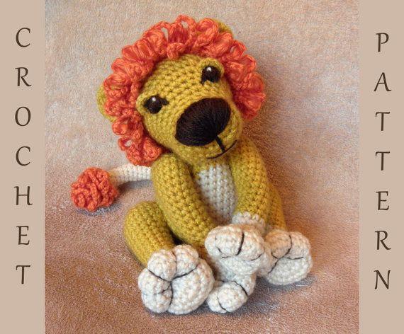 Curly Lion - PDF Crochet Pattern