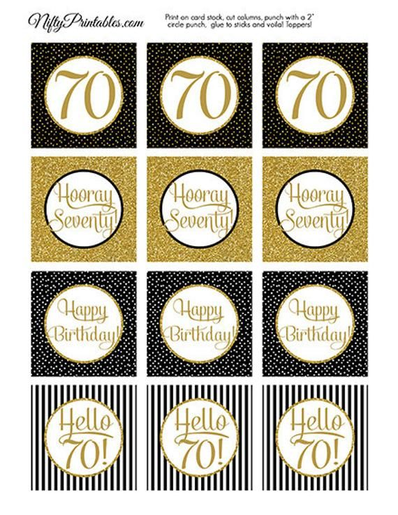 25 x Number 18 Toppers Birthday Anniversary Card Making Paper Craft GOLD