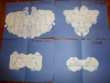 "Cloud Fun with Spilt Milk-art inspired by the book, ""It Looked Like Spilled Milk"""