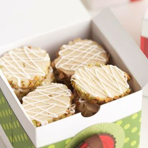 Diabetic recipes - Lemon Pistachio Slice-and-Bake Cookies - http://bestrecipesmagazine.com/diabetic-recipes-lemon-pistachio-slice-and-bake-cookies/