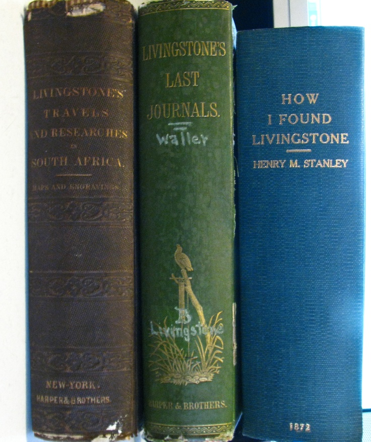 David Livingstone/Henry Stanley  Dr Livingstone I Presume Book