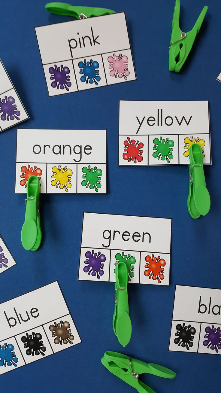 70 best Teaching Colors and Color Words images on Pinterest | School ...