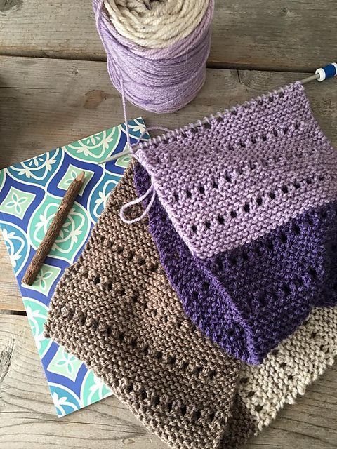 Ravelry: The Eyelet Scarf pattern by Grizzlie Knits