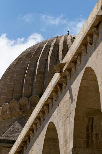 Dome of Zincirli Medresse, Mardin, SE Turkey