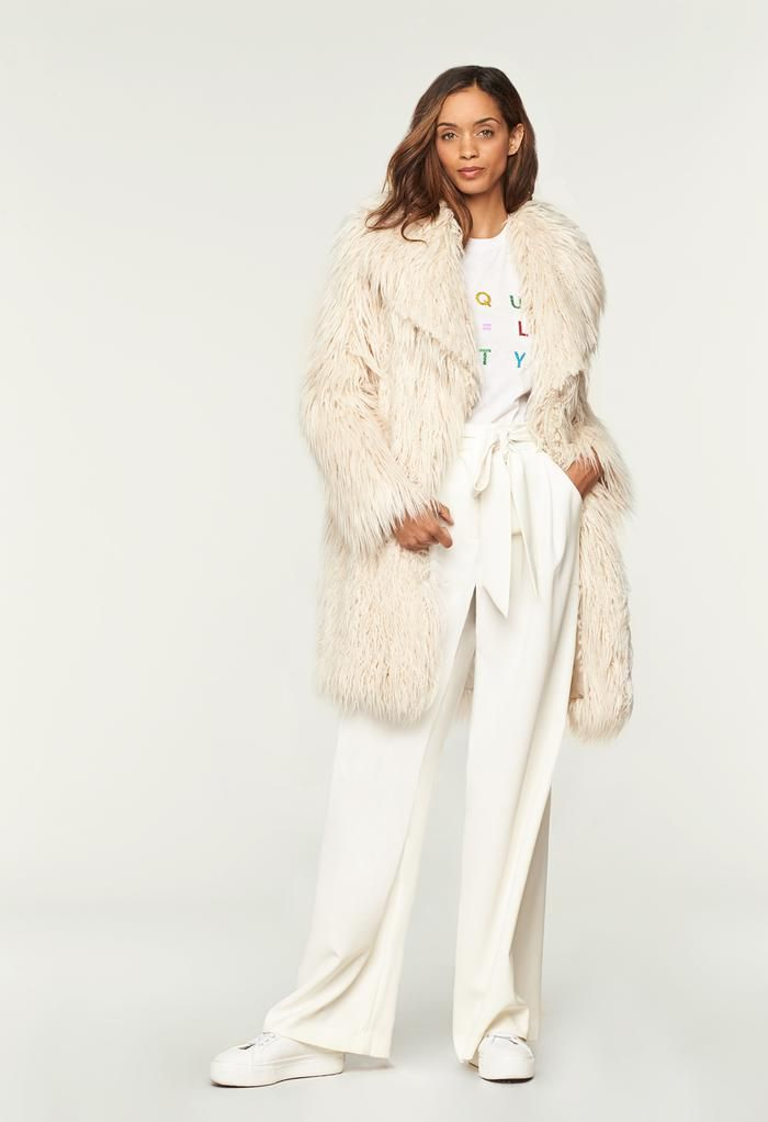 fe8e96d70bcc Faux Fur Riley Coat | When A Coat Makes All The Difference | Coat ...