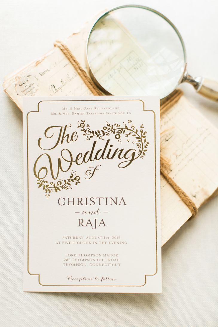 70 best Vintage // Romatic Invitations images on Pinterest | Wedding ...