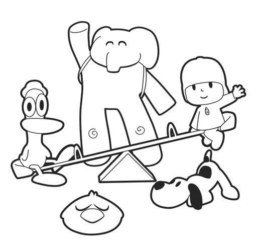 Pocoyo o protagonista de uma série de animação, de mesmo nome, destinada a crianças em idade pré-escolar. Ele é um menininho de 3 anos, ves...