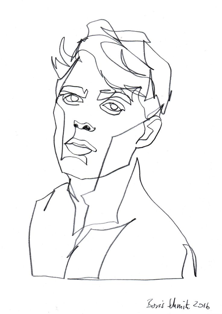 Continuous Line Drawing Of Face : The best single line drawing ideas on pinterest face