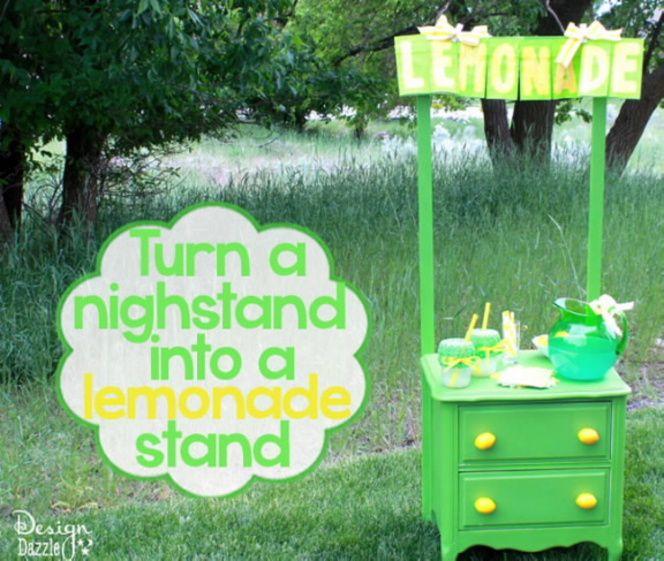 Studio 5 - Turn a Nightstand Into a Lemonade Stand