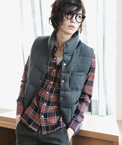 Korean Male Glasses Fashion