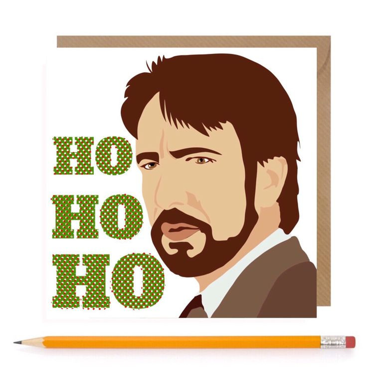 Funny Die Hard Christmas Card • Die Hard Holidays Card • Funny Die Hard Xmas Card • Hans Gruber Card • Alan Rickman Christmas by TheGinFox on Etsy https://www.etsy.com/uk/listing/460224148/funny-die-hard-christmas-card-die-hard