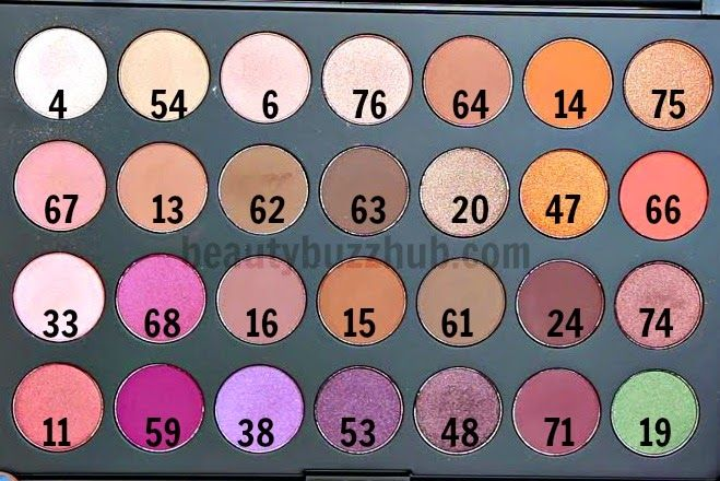 BeautyBuzzHub: Jaclyn Hill Favorites Palette w/ Morphe Brushes | Review & Swatches
