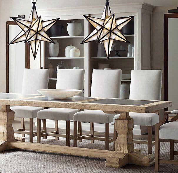 90 best Dining Room Table Dreams images on Pinterest : 5b1156e8a47fa7fe669370e67ce41fb7 star pendant pendant lights from www.pinterest.com size 605 x 590 jpeg 84kB