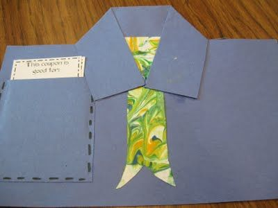Have students make this Father's Day card to celebrate Dad. #FathersDay #cards #Dads