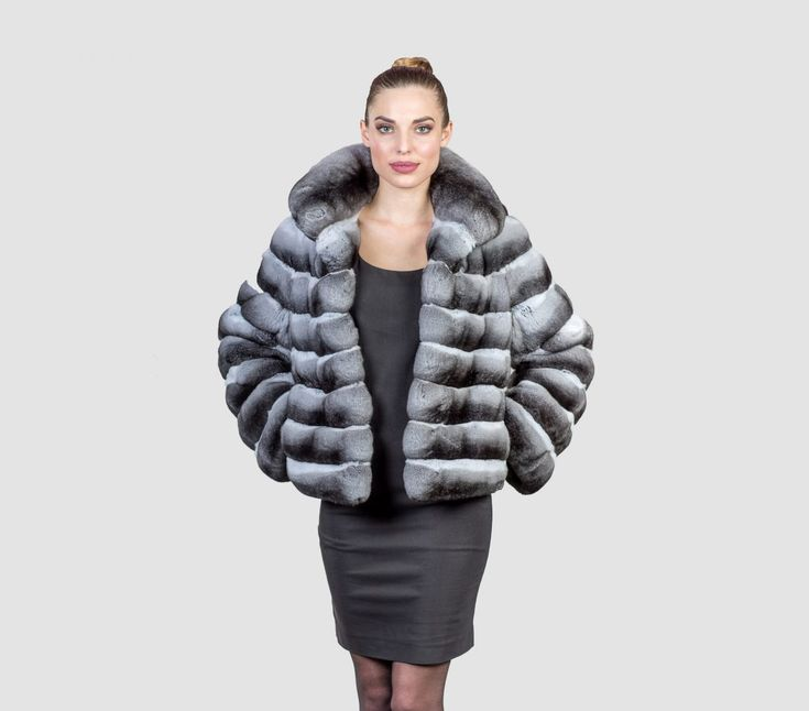 #chinchilla #real #fur #coat #jacket #style #fashion #classy #clothing #top #best #collar #luxury