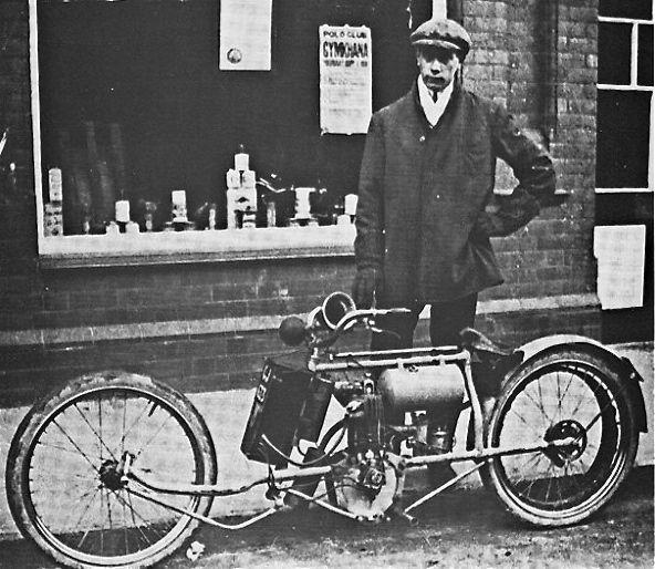 Genesis: The Custom Motorcycle   The Old Motor