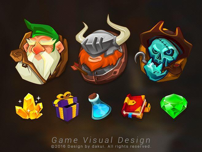 原创作品:Mobile Game Vis...
