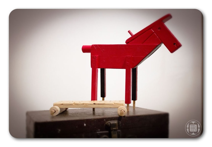 *horse - progress* by Robert Romanowicz, via Behance