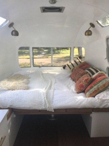 99 Best Hacks, Remodel And Makeover Airstream Trailers (63)