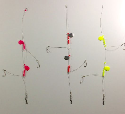 Skippers Tackle drop shot rigs are now available nylon coated stainless steel...