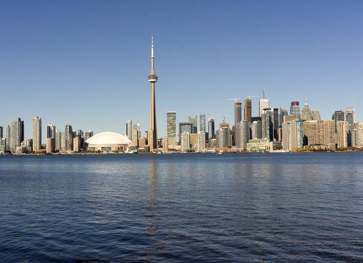 #Toronto #Skyline #LakeOntario