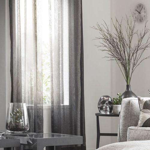 Tende per i soggiorni moderni; Idee Per Arredare Il Soggiorno Milano Design Week Curtains Sheer Curtains Gray Sheer Curtains