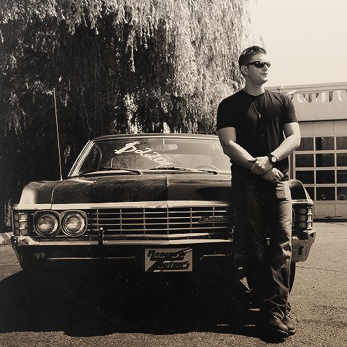 Kai drives a '67 Chevy Impala, paying homage to one of my all-time favorite TV shows, Supernatural :)