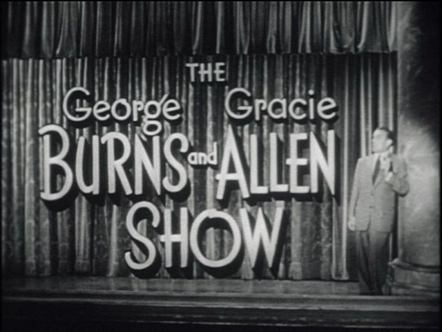 george burns show | The George Burns And Gracie Allen Show (1950-58) | Vintage45's Blog