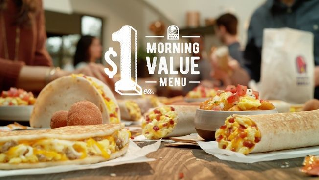 Taco Bell's Mobile Ads Are Highly Targeted to Make Users Crave Its Breakfast Menu