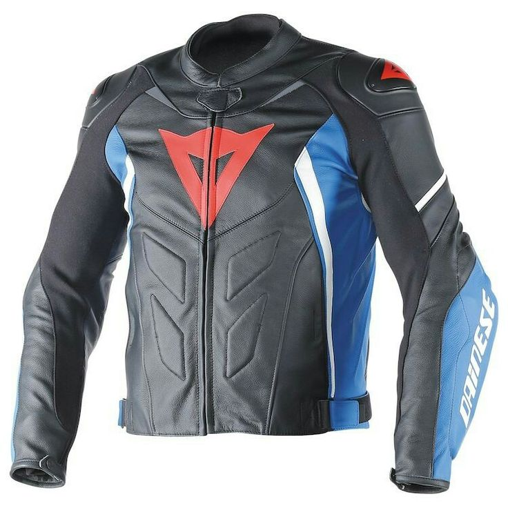 Motorbike Jackets, Leather Motorcycle Jackets, Men's Leather, D1, Jets,  Blue, Motorcycle Jackets, Leather Men, Fighter Jets
