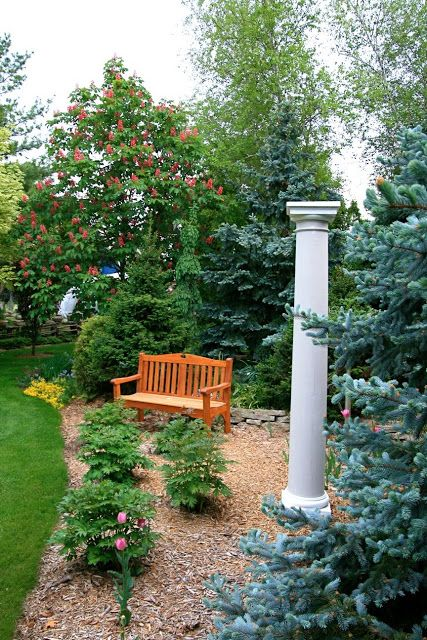 Like The Column In This Garden