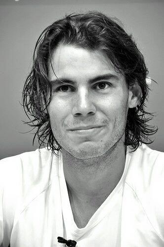I wish to acquire Rafa Nadal's positive attitude and competitive spirit.
