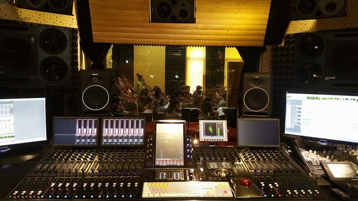 This is #howismade #recording #music #studio #inesstudios #protools #avid #s6! The famous band - GOLAN, symfonic version.
