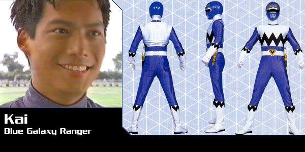 Kai Chen (Blue Galaxy Ranger) - Power Rangers Lost Galaxy | Power Rangers Central