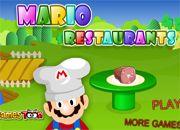 Mario Bros Restaurants | Hi Games - juegos Online
