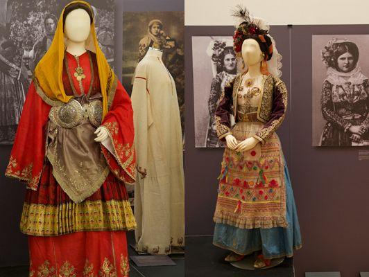 Hellenik folk costumes