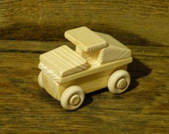 Handmade Wood Toy Humvee Hummer Truck Wooden Toys by OutOnALimbADK