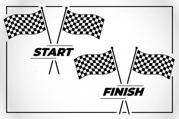 Checkered Premium Freepik Finish Vector Sports Start Flag Race Line For And Carcheckered Flag For Start And Fi In 2020 Flag Flag Vector Vector Logo Design