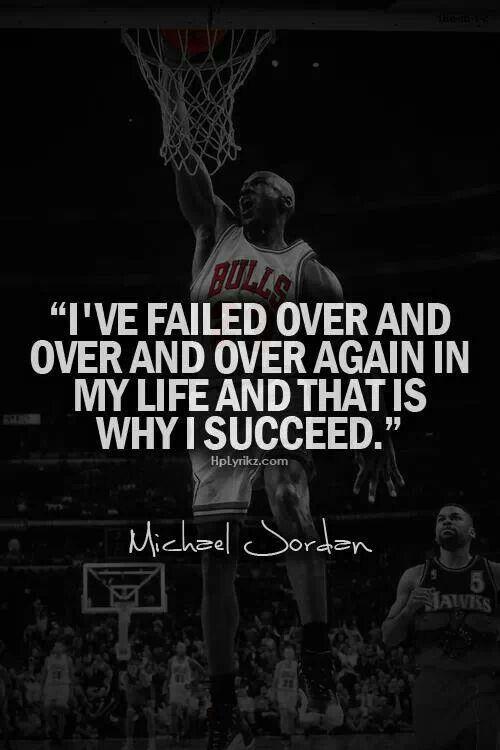 Great Michael Jordan quote