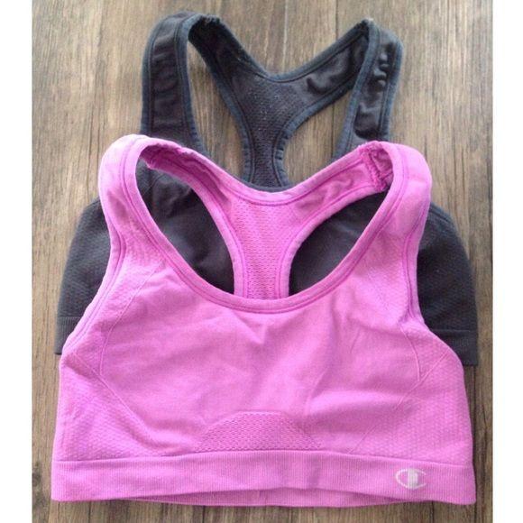 Bundle of Champion Sports Bras No Trades // Size SM. Both worn but in good condition! Champion Intimates & Sleepwear Bras