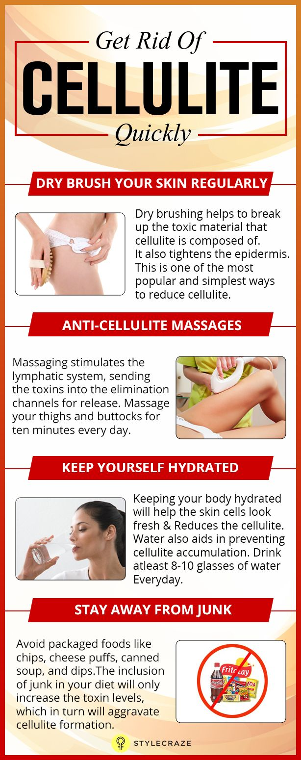 Every woman hates to have cellulite. Are you looking for ways to get rid of cellulite from your body? Cellulite does not vanish overnight. It takes at least two weeks to see a noticeable difference. Let us take a look at 26 effective tips and techniques to get rid of cellulite. #Cellulite