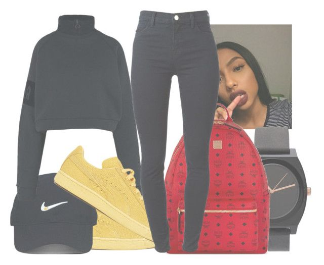 """≈ just a little bit more ≈"" by trap-ical ❤ liked on Polyvore featuring Puma, Nike Golf, MCM and J Brand"