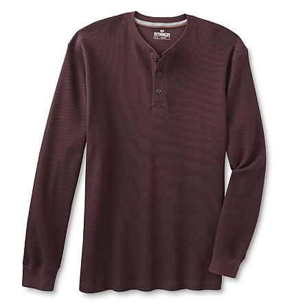 Outdoor Life Men's Big & Tall Thermal Henley Shirt