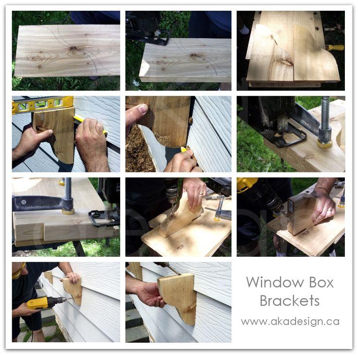 window box brackets